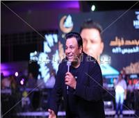 صور| محمد فؤاد يتألق في خيمة «ليالي الميرلاند» بحضور «كامل العدد»