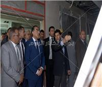 رئيس الوزراء يتفقد أعمال تطوير إستاد القاهرة استعدادا لكأس الأمم الإفريقية