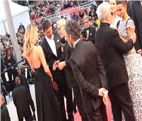 """بنيلوبي كروز وأنطونيو بانديراس  في العرض الخاص لفيلم """"dolory gloria"""""""