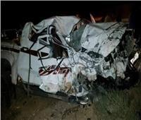 إصابة 8 أشخاص في حادث تصادم سيارتين بطريق دمنهور شبراخيت