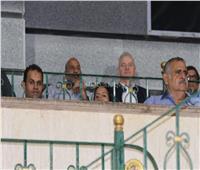 أجيري يتابع مباراة الإسماعيلي والداخلية في استاد السويس