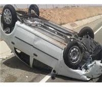 إصابة 3 أشخاص في انقلاب سيارة بالبحيرة