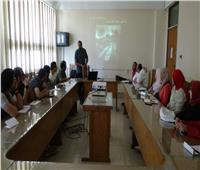 جامعة المنيا تختتم أولى دورات مركز الخدمات الإعلامية في مجال التصوير