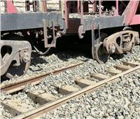 توقف حركة القطارات على خط الإسكندرية القاهرة بسبب خروج ٣ عربات عن القضبان
