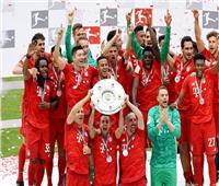 بايرن ميونج بطلًا للدوري الألماني للمرة السابعة على التوالي