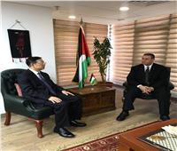 السفير الفلسطينى يبحث مع مسئول صيني تطورات الأوضاع في القدس