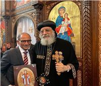 البابا تواضروس: هاني عازر فخر لكل المصريين