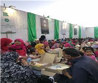 بالصور.. فنانون وإعلاميون يشاركون في حفل إفطار «مصر الخير» بالإسكندرية