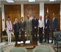 نائب رئيس جامعة أسيوط يلتقي بوفد الهيئة العربية للتصنيع
