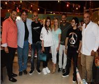 صور| حمدي الوزير ومصطفى حجاج في حفل إفطار بمصر الجديدة