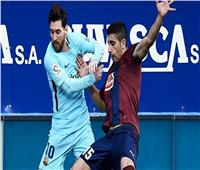 فيديو  برشلونة يتعادل مع إيبار في الشوط الأول