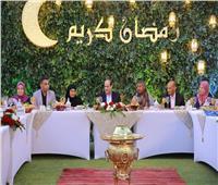 صور| السيسي عن «إفطار العيلة»: لمست في أفكار المصريين وعيًا بواقعنا