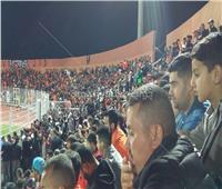 خاص| صور.. أجواء الملعب البلدي بالمغرب أثناء مباراة الزمالك ونهضة بركان