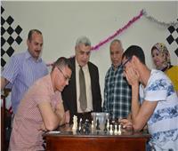 نائب رئيس جامعة طنطا يفتتح الدورة الرمضانية للشطرنج
