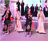 صور| عروس الصعيد والشرقية للإنشاد الديني يتألقون على مسرح سور القاهرة الشمالي