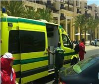 إصابة 10 أشخاص في تصادم ميكروباص و تريلا بالغردقة
