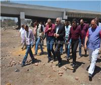 محافظ الجيزة يُتابع أعمال رصف وتطوير طريق «طراد النيل» بتكلفة 33 مليون جنيه