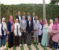 مواطنون بإفطار العيلة: حي الأسمرات منحنا حياة كريمة.. والسيسي: «كله من خير مصر» | فيديو