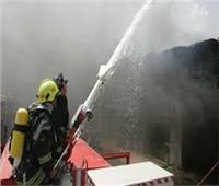 اندلاع حريق بعشش السكة الحديد بشارع السودان