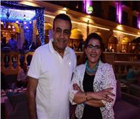صور| أسامة منير وفاطمة نعوت وسناء يوسف في سحور «كونكورد»
