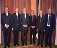 صور| رئيس الوزراء وشخصيات عامة على مائدة إفطار منير فخري عبدالنور