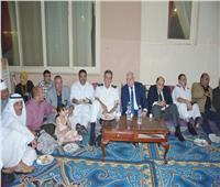 محافظ جنوب سيناء يقيم مأدبة إفطار لجميع أطياف المجتمع