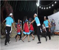 صور| فرقة النيل للآلات الشعبية تُبهر الحضور بثقافة السويس