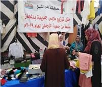 توزيع ١٢ ألف كرتونة و٥٥ طن لحوم على غير القادرين بكفر الشيخ