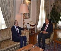 وزير خارجية الأردن يغادر القاهرة بعد لقاء شكري