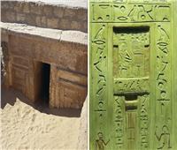 صور| عالم مصريات يكشف سر الأبواب الوهمية بمقابر الفراعنة
