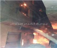 5 سيارات إطفاء للسيطرة علي حريق بأحد العقارات في عزبة النخل