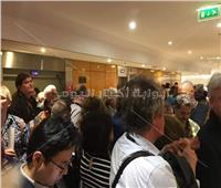 بالصور  طوابير الصحفيين في انتظار دي كابريو وبراد بيت وتوانتينو