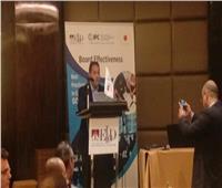 رئيس هيئة الرقابة المالية يشارك حفل سحور مركز المديرين المصري