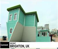 شاهد| أغرب منزل فى بريطانيا من الخشب