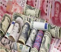 تراجع جماعي لأسعار العملات الأجنبية أمام الجنيه المصري في ختام التعاملات