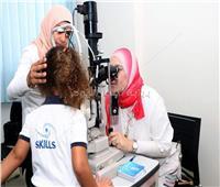 """صور.. قافلة طبية من مستشفى سعاد كفافي للكشف على طلاب مدارس """"سكيلز"""" في إطار مبادرة صحة أطفالنا"""
