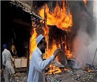 إصابة 8 أشخاص في انفجار قرب مسجد بباكستان