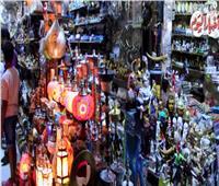 شاهد| ليالي رمضان في الحسين وشارع المعز