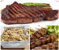 فطارك عندنا | «ستيك اللحم - أرز بالمشروم - كفتة مشوية»