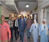 رئيس جامعة الأزهر يطمئن على سير الخدمات الطبية بمستشفى الحسين الجامعي