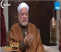 أحمد عمر هاشم يبكي على الهواء لهذا السبب