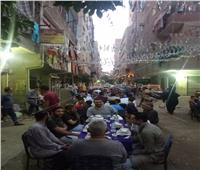 «اللمة الحلوة».. إفطار جماعي بعين شمس