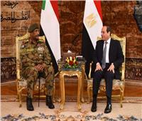 السيسي: ندعم أمن واستقرار السودان ونساند خيارات شعبه في صياغة مستقبله