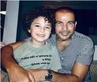 """صورة.. عمرو دياب مع نجم """"زي الشمس"""""""
