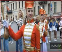 شاهد| مدينة سان بطرسبورج الروسية تحتفل بعيد ميلادها الـ 316