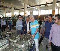 محافظ المنوفية يتفقد مصانع بمدينة السادات