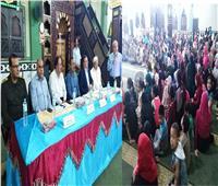 توزيع جوائز مسابقة حفظ القرآن الكريم بالزرقا