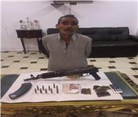"""ضبط """"ابوجزرة"""" اشهر تاجر مخدرات ببنها"""