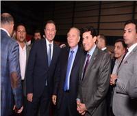 صور| وزير الرياضة والزند والإبراشي في حفل إفطار الأهلي