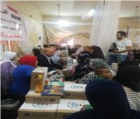 مساعدات غذائية من سفارة الكويت إلى ٤٠٠ أسرة بكرداسة